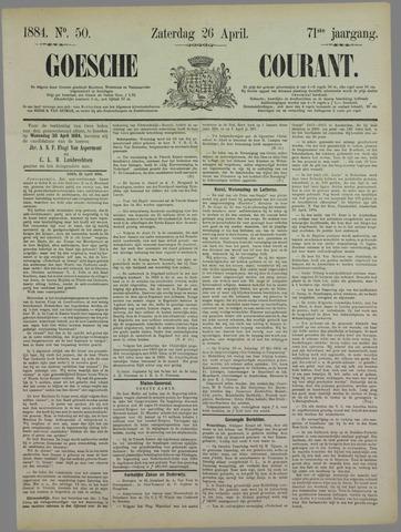 Goessche Courant 1884-04-26