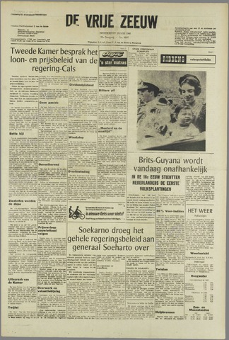 de Vrije Zeeuw 1966-05-26
