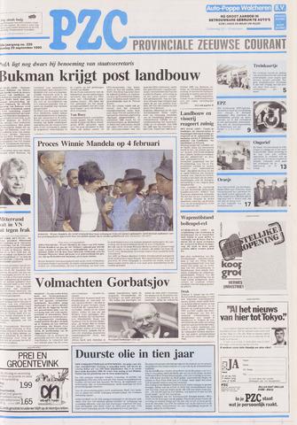Provinciale Zeeuwse Courant 1990-09-25
