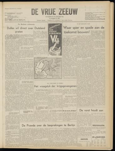 de Vrije Zeeuw 1954-01-28