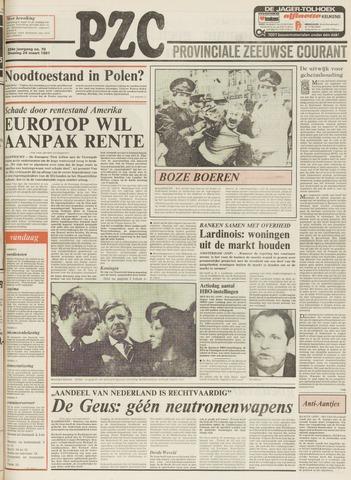 Provinciale Zeeuwse Courant 1981-03-24