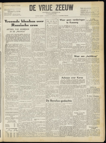 de Vrije Zeeuw 1951-08-02