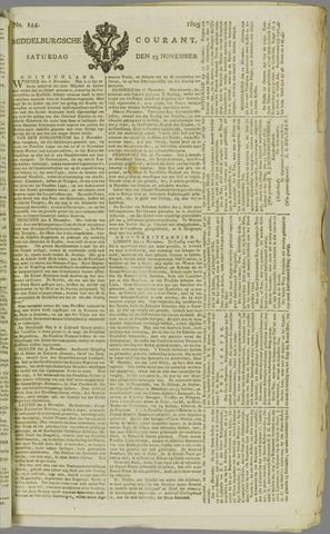 Middelburgsche Courant 1805-11-23