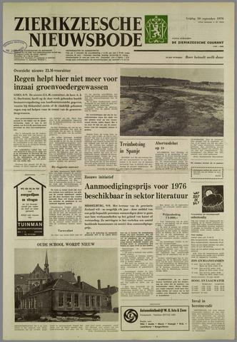 Zierikzeesche Nieuwsbode 1976-09-10