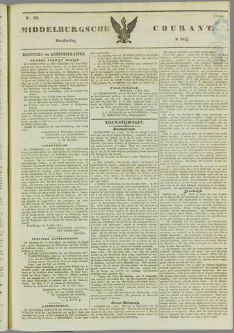 Middelburgsche Courant 1846-07-09