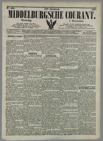 Middelburgsche Courant 1891-12-07