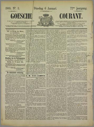 Goessche Courant 1885-01-06