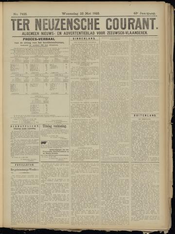 Ter Neuzensche Courant. Algemeen Nieuws- en Advertentieblad voor Zeeuwsch-Vlaanderen / Neuzensche Courant ... (idem) / (Algemeen) nieuws en advertentieblad voor Zeeuwsch-Vlaanderen 1923-05-23