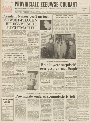 Provinciale Zeeuwse Courant 1970-05-21