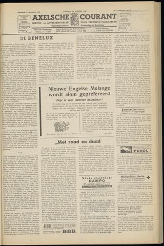 Axelsche Courant 1952-10-25