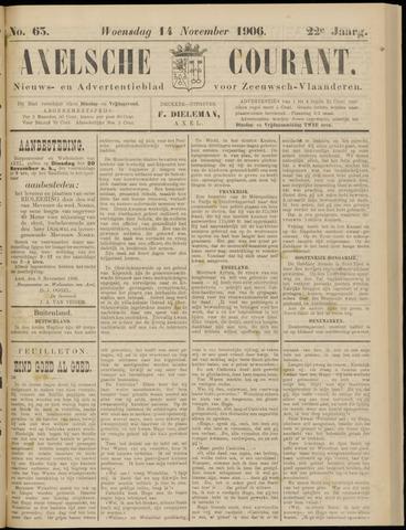 Axelsche Courant 1906-11-14