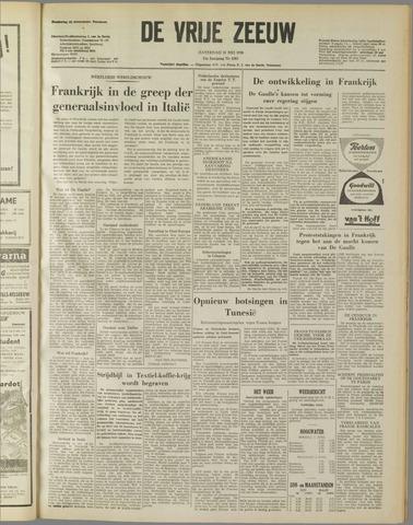 de Vrije Zeeuw 1958-05-31