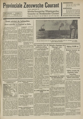Provinciale Zeeuwse Courant 1941-02-17