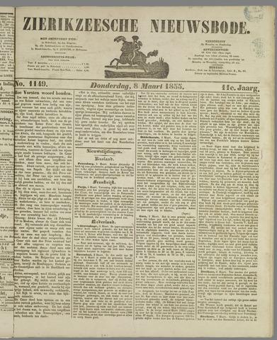 Zierikzeesche Nieuwsbode 1855-03-08