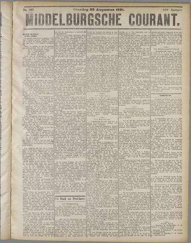 Middelburgsche Courant 1921-08-23