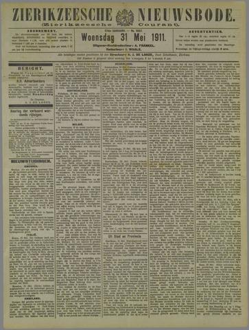Zierikzeesche Nieuwsbode 1911-05-31