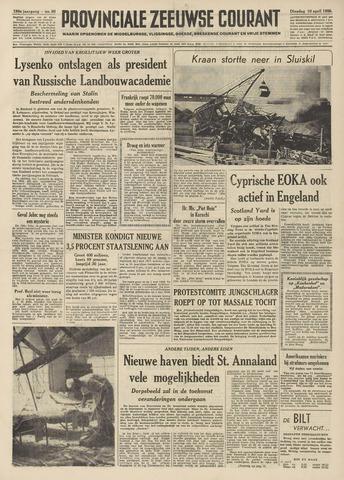 Provinciale Zeeuwse Courant 1956-04-10