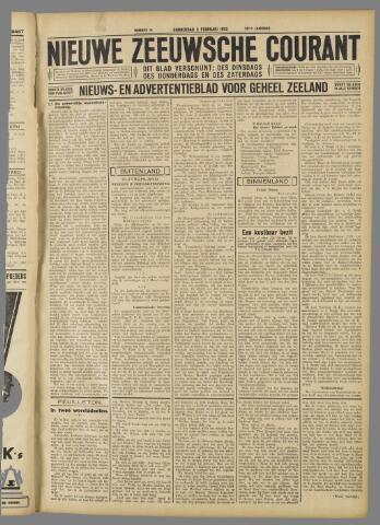 Nieuwe Zeeuwsche Courant 1933-02-02
