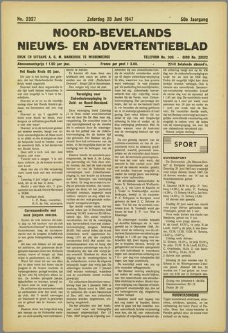 Noord-Bevelands Nieuws- en advertentieblad 1947-06-28