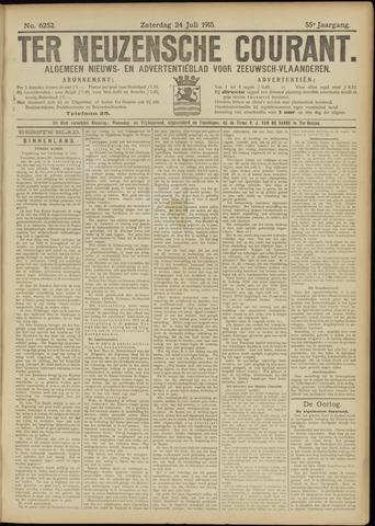 Ter Neuzensche Courant. Algemeen Nieuws- en Advertentieblad voor Zeeuwsch-Vlaanderen / Neuzensche Courant ... (idem) / (Algemeen) nieuws en advertentieblad voor Zeeuwsch-Vlaanderen 1915-07-24