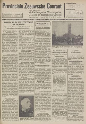 Provinciale Zeeuwse Courant 1941-04-26