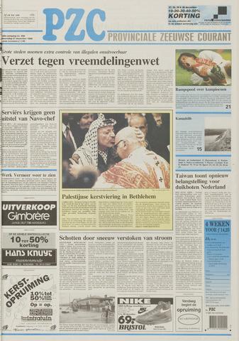 Provinciale Zeeuwse Courant 1995-12-27