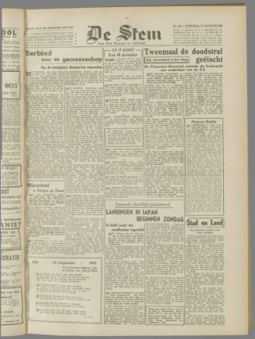 de Stem 1945-08-22