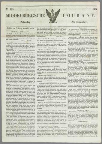Middelburgsche Courant 1865-11-25