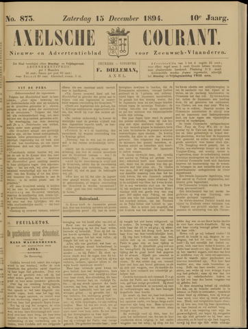 Axelsche Courant 1894-12-15