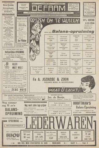 de Faam en de Faam/de Vlissinger 1961-01-13