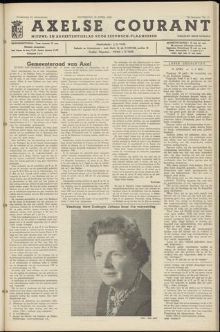 Axelsche Courant 1960-04-30