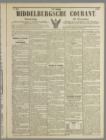 Middelburgsche Courant 1906-11-29