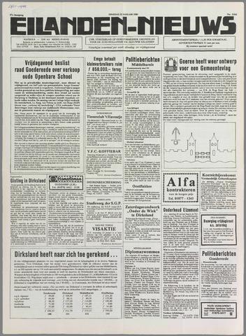 Eilanden-nieuws. Christelijk streekblad op gereformeerde grondslag 1985-01-22
