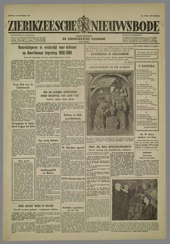 Zierikzeesche Nieuwsbode 1958-12-23