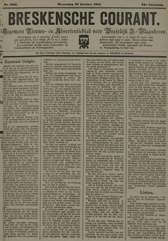 Breskensche Courant 1914-10-28
