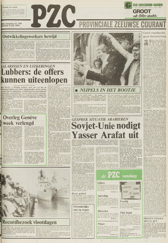 Provinciale Zeeuwse Courant 1983-07-09