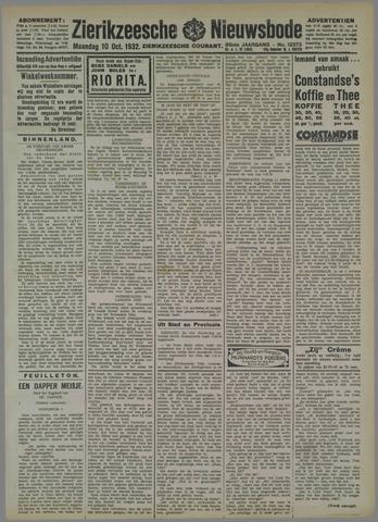 Zierikzeesche Nieuwsbode 1932-10-10
