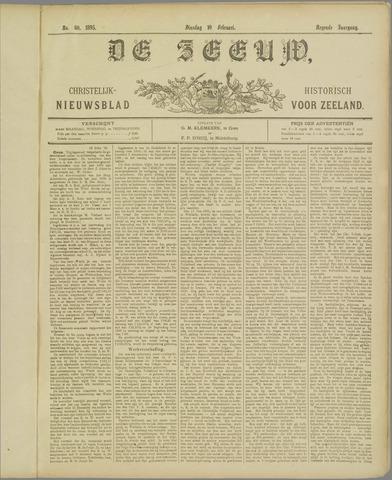 De Zeeuw. Christelijk-historisch nieuwsblad voor Zeeland 1895-02-19