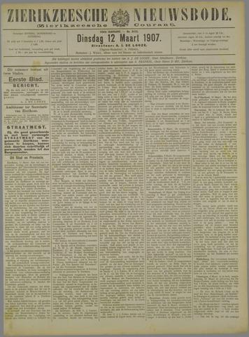 Zierikzeesche Nieuwsbode 1907-03-12