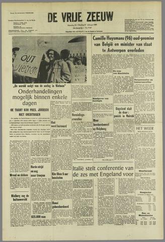 de Vrije Zeeuw 1968-02-26