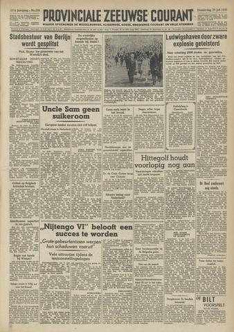 Provinciale Zeeuwse Courant 1948-07-29