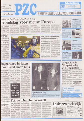 Provinciale Zeeuwse Courant 1990-11-21