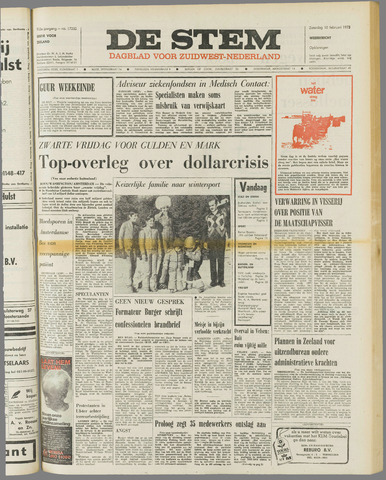 de Stem 1973-02-10