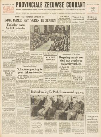 Provinciale Zeeuwse Courant 1965-09-15