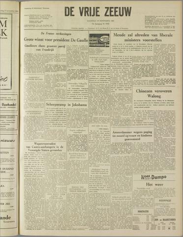 de Vrije Zeeuw 1962-11-19