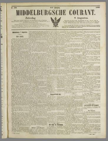 Middelburgsche Courant 1908-08-08