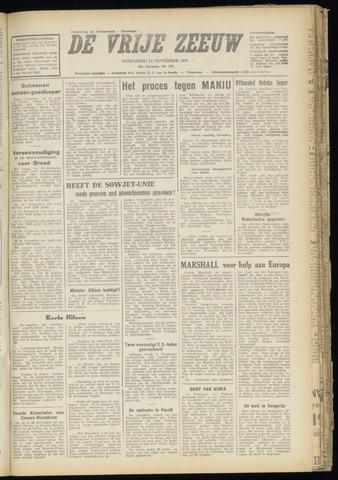 de Vrije Zeeuw 1947-11-12