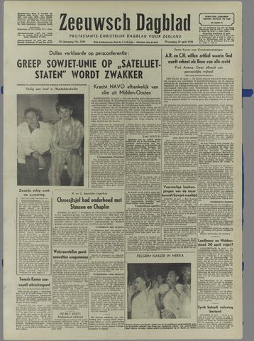 Zeeuwsch Dagblad 1956-04-25