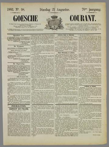 Goessche Courant 1883-08-21