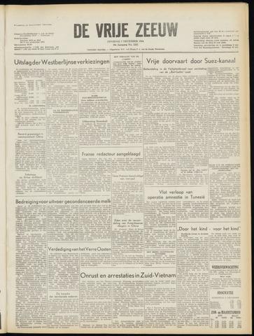 de Vrije Zeeuw 1954-12-07